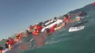 Výletná loď sa potopila na šírom mori (Kostarika)
