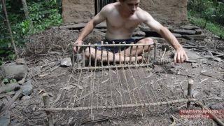 Tkanie textílie z lyka (primitívne techniky prežitia)