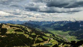 Timelapse z Tirolských Alp