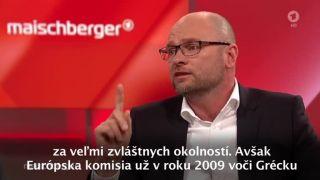 Blíži sa koniec Európskej únie? (Sulík v nemeckej ARD)