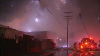 Ohňostroj pre hasičov (Los Angeles)
