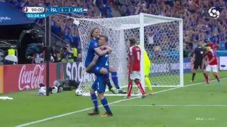 Reakcia islandského komentátora po výhernom góle