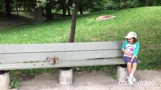 Ako veverička malému dievčatku zub vytrhla