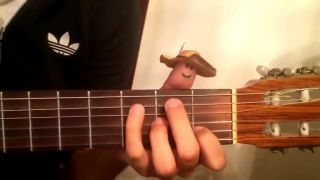 Keď hrá palec na gitaru