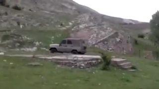 Výhodou je mať 4x4 (Dagestan)