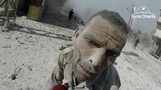 Bežný deň záchranárov v Sýrii