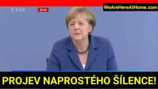 Zvládneme to, zvládneme to! (prejav Merkelovej)