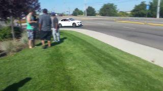 Keď sa mládenec pokúša driftovať na BMW
