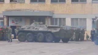 Bojové vozidlo pechoty prešlo omylom vojaka