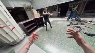 Únik pred krvilačnými zombie (krátky film)