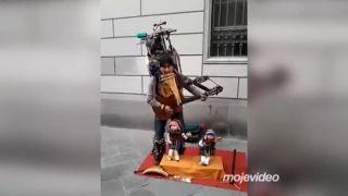 Indiánska peruánska kapela (One man show)