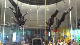 Dynamické lietanie štvoriek (MS v indoor skydivingu 2015)