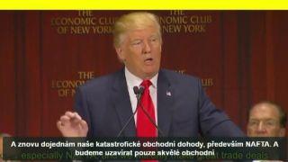 Historický projev Donalda Trumpa. Opravdu to stojí za to.