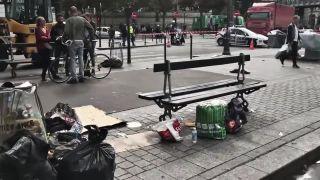Paríž 2016, imigranti v uliciach mesta