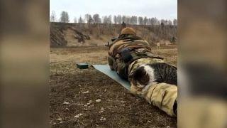 Taktický výhrevný ľadvinový pás pre strelcov