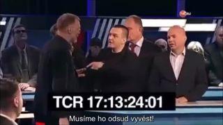 Poľského novinára napadol moderátor aj hostia (Rusko)