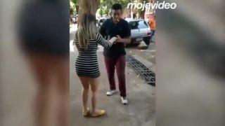 Prečo si nespríjemniť chvíľu tancom na ulici (Brazília)