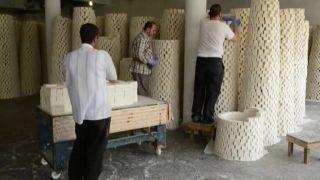 Olivové mydlo z mesta Náblus (tradičná výroba)