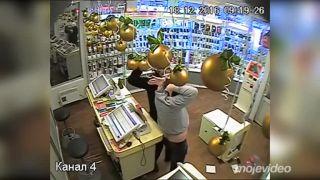 Paralyzujúci vianočný nákup (Rusko)