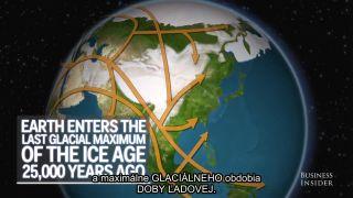 Ľudská migrácia naprieč zemeguľou