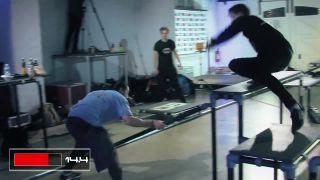Naháňačka cez prekážky (semifinále)