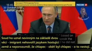 Vladimir Putin - Európa nemá budúcnosť