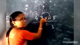 Medzičasom na hodine matematiky v indickej ZŠ