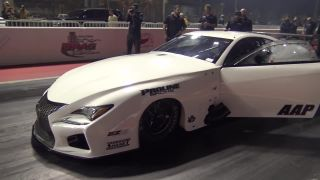 447 km/h za 5,5 sekundy (EKanoo Racing  Lexus RC F 3000 HP)