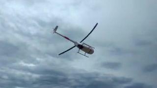 Okúpal sa s helikoptérou (Brazília)