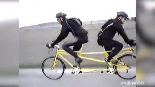 Ideálny tandemový bicykel pre rozhádané páry