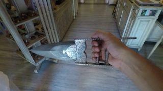 Nožnicový nôž - demonštrácia starobylej indickej zbrane