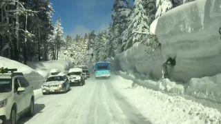 V Kalifornii majú poriadnu nádielku snehu