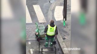 Neskutočná chuť do práce (Paríž)