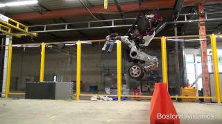 Boston Dynamics predstavil nového robota menom Handle