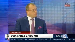 Grilovanie oplzlého Borisa Kollára na TA3 (čistý deň)