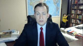 Živý vstup BBC narušili nevítaní hostia