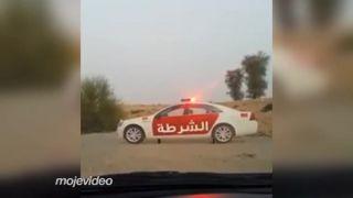 Policajná kontrola z Ras Al Khaimah (SAE)