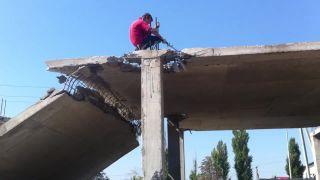 Bezpečnosť na stavbe v ruskom Belgorode