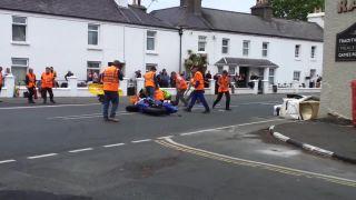 Smrteľná nehoda na pretekoch Isle of Man TT