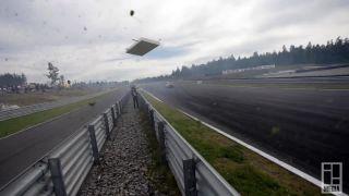Driftovanie v rýchlosti 220 km/h (Rudskogen)