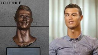 Keby Cristiano Ronaldo vyzeral ako jeho socha na Madeire