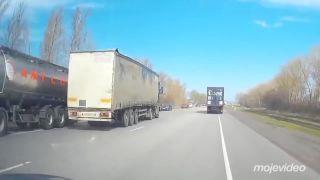 Zaspal za volantom a zastavili ho až topole (Rusko)