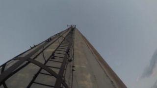 Výstup na najvyšší komín v Európe