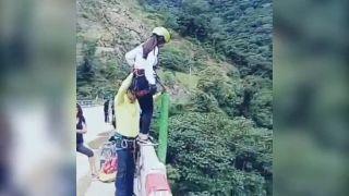 Keď sa bungee jumping premení na nočnú moru!