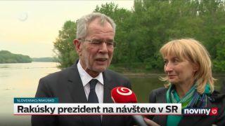 Slovensko navštívil rakúsky prezident Alexander Van der Belle