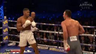 Anthony Joshua vs. Vladimir Kličko (najlepšie momenty)