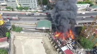 Stožiar vysokého napätia nie je ohňovzdorný (Filipíny)