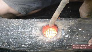 Výroba vodou poháňaného kladiva (techniky prežitia)