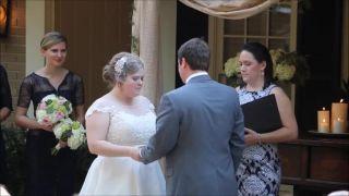 Oddávajúca nechtiac prerušila manželský sľub