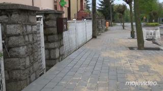 Poliak sa dočkal nového chodníka pred domom